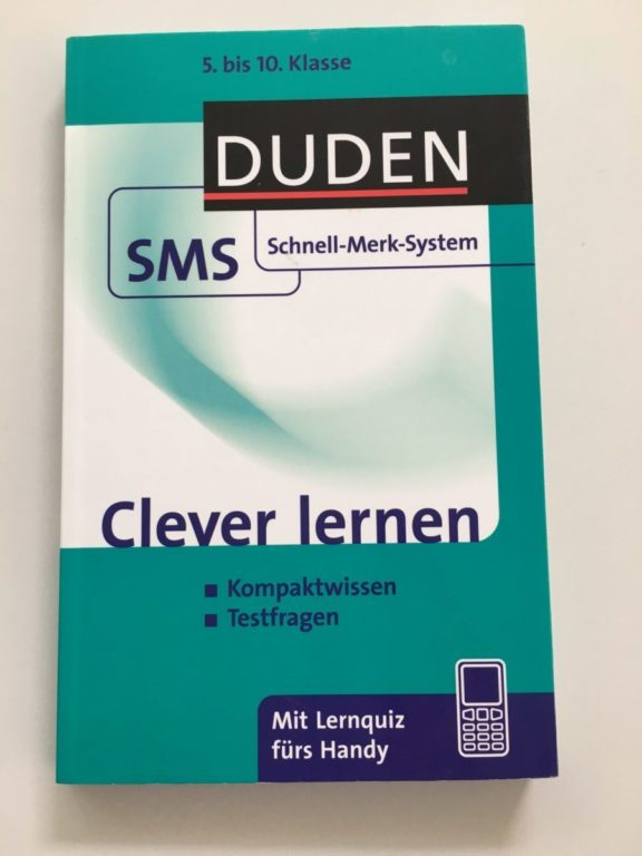Clever lernen - Duden SMS