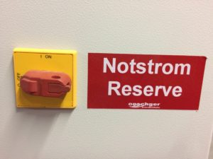 Notstrom-Reserven anbrauchen?